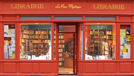 Photo Facade Librairie La Rose mystique